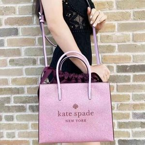 NWT Kate Spade ♠️ Glitter ✨ Shopper Tote